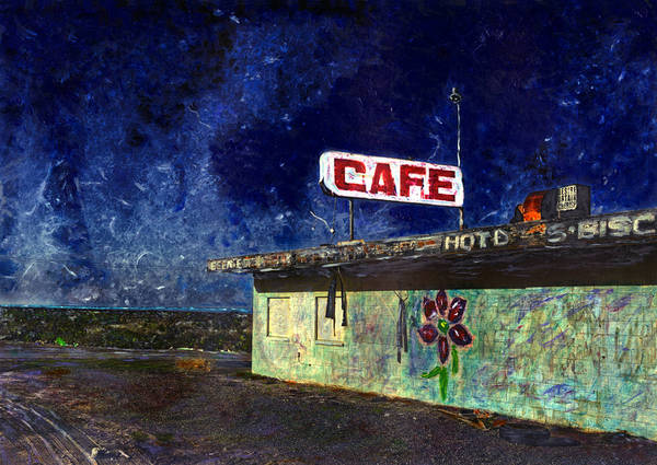Atomic Cafe - Salton Sea, CA -  Abandoned